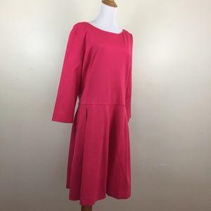 NWT BANANA REPUBLIC Long Sleeve Dress TALL